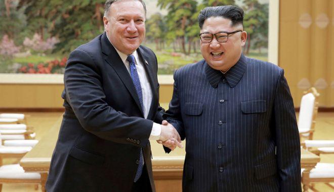 Secretarul de stat american Mike Pompeo  va vizita din nou Coreea de Nord - secretarul-1538054464.jpg