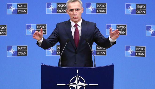 Foto: Secretarul general al NATO cere Rusiei să-și retragă trupele din estul Ucrainei