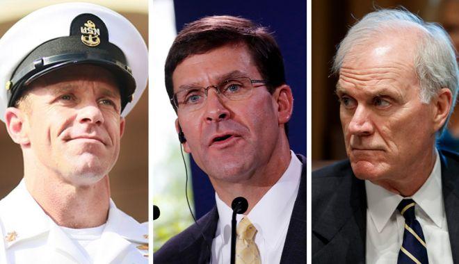 Foto: Secretarul Apărării îi cere demisia comandantului Marinei americane