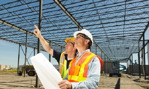 Foto: Sectorul construcțiilor bate pasul pe loc