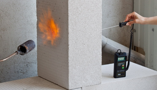 Foto: Securitate la incendiu - construcții fără risc