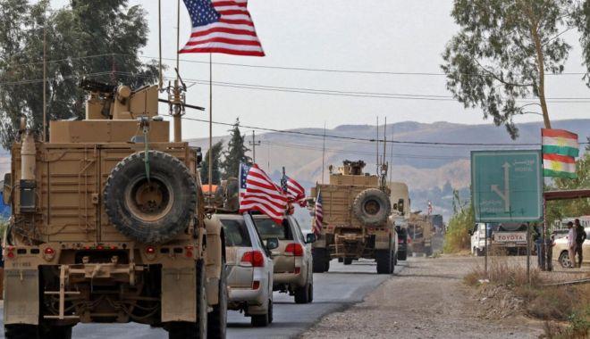 Foto: Șeful Pentagonului discută la Bagdad despre retragerea trupelor americane din Siria