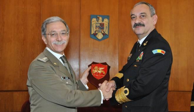 Foto: Șeful Statului  Major Napoli,  vizită la Constanța