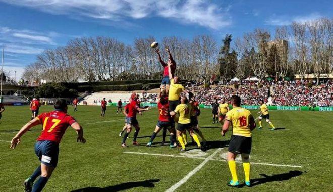 """Foto: Selecționerul Marius Tincu, după eșecul cu Spania: """"Greșelile se plătesc în puncte"""""""