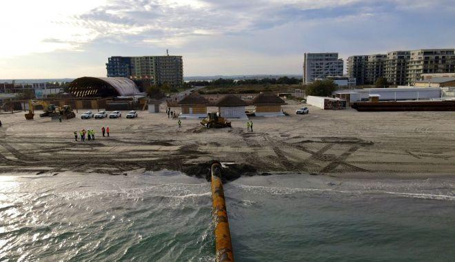 Se reiau lucrările de înnisipare a plajei din Mamaia. A fost ridicată restricţia impusă de DNA - sereiaulucrarile-1614944103.jpg
