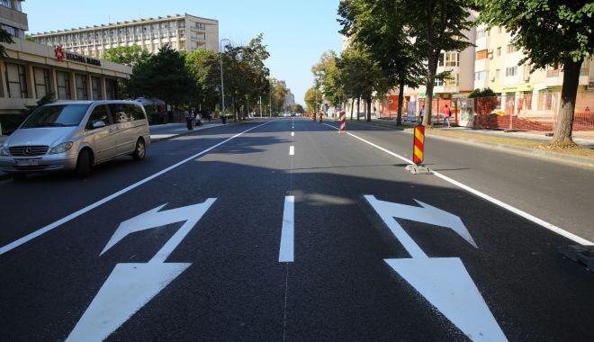 Foto: Anunţ important de la Primăria Constanţa. Cum se va circula pe bulevardul Tomis