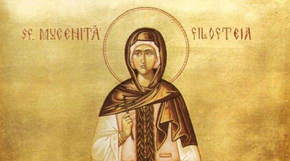 Credincioșii o cinstesc, sâmbătă, pe Sfânta Filofteia, iubitoarea de Dumnezeu - sfantafilofteia-1575598163.jpg
