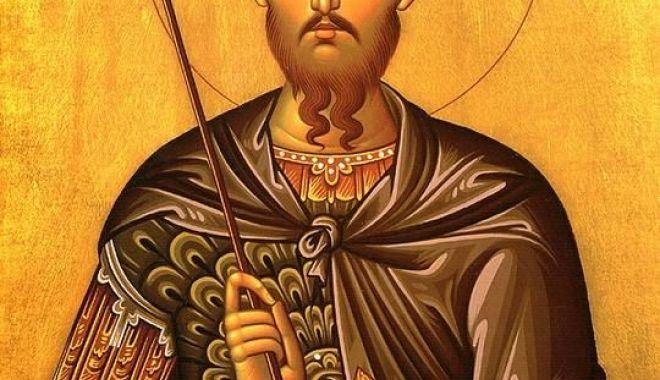 Foto: Sfântul Mare Mucenic Teodor Tiron, cinstit de creștini