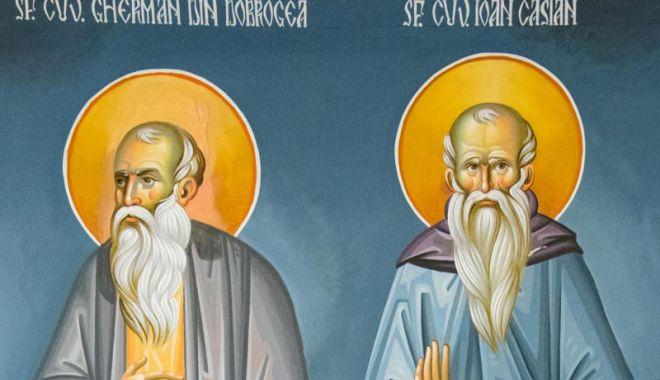 Foto: Astăzi, sărbătorim doi sfinți dobrogeni de talie internațională, pe Ioan Casian și Gherman