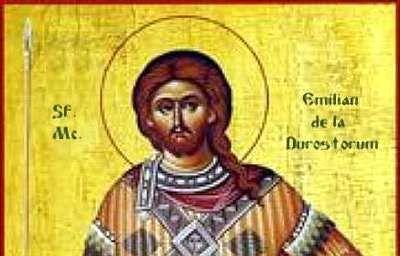 Foto: Sărbătoare religioasă. Ortodocșii îl cinstesc pe Sfântul Mucenic Emilian