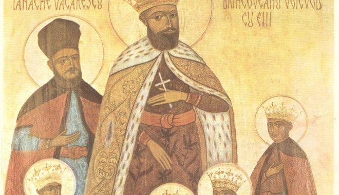 Foto: Sfinții Martiri Brâncoveni, sărbătoriți de ortodocși, săptămâna aceasta