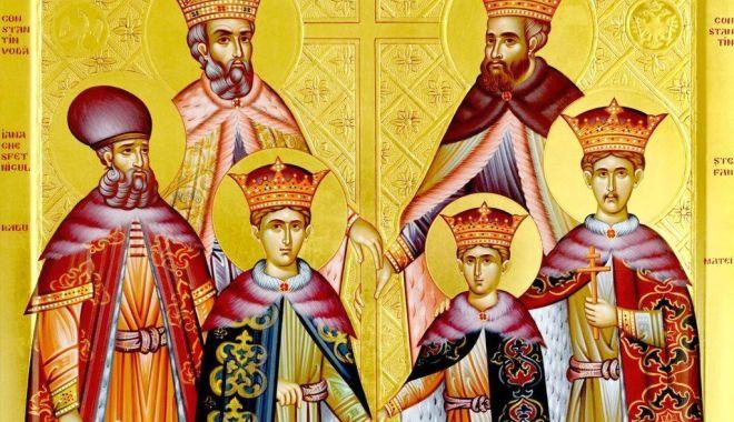 Foto: Biserica îi cinstește pe Sfinții Martiri Brâncoveni