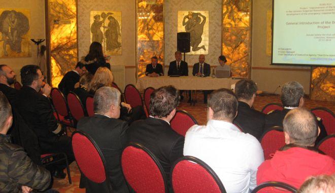 Foto: Siguranța navigației pe sectorul româno-bulgar al Dunării va crește  cu bani europeni