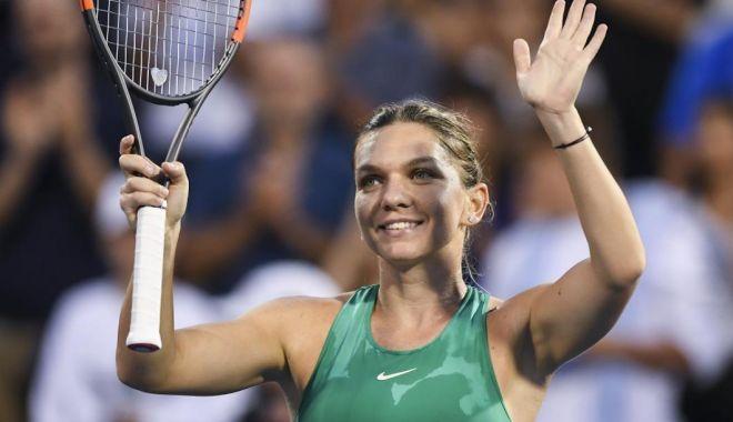 """Foto: Simona Halep a plecat la Toronto. Miercuri intră în turul 2 la """"Rogers Cup"""""""