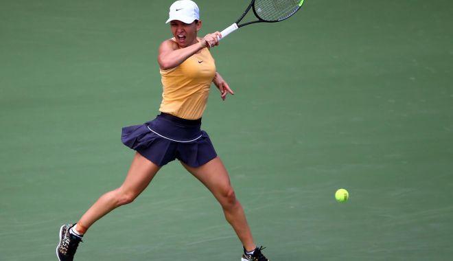"""Foto: Simona Halep s-a calificat cu emoții în turul 3 la """"Rogers Cup"""""""