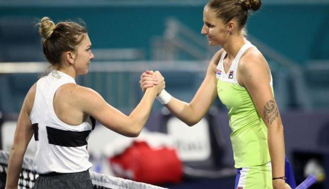 Karolina Pliskova, după victoria cu Halep: