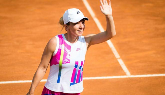 Foto: Info Roland Garros / Simona Halep, aniversare pe terenul de joc