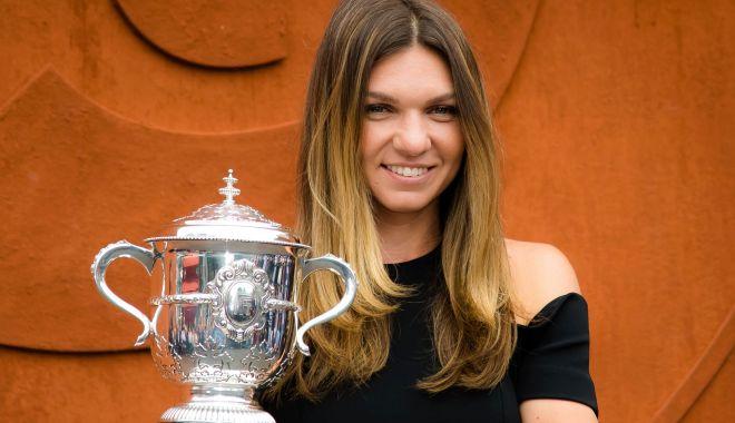 Foto: Simona Halep, antrenament în ziua în care s-au împlinit doi ani de la triumful de la Roland Garros