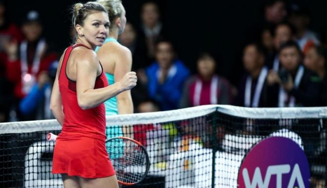 Foto: Simona Halep o înfruntă pe Karolina Pliskova, în sferturi, la Australian Open