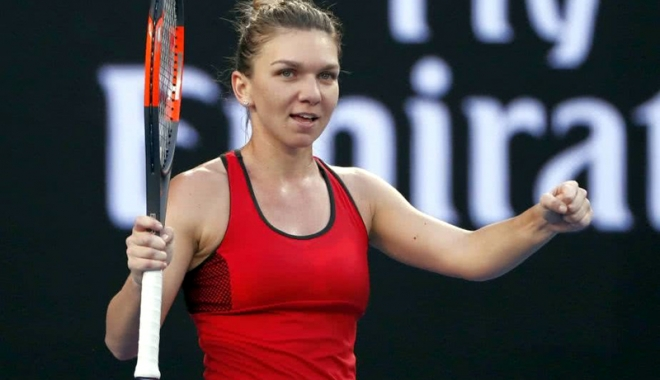 Foto: Simona Halep s-a calificat în semifinale, la Australian Open