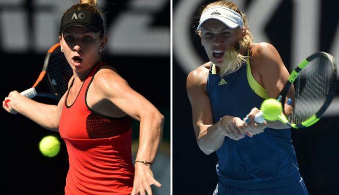 """Foto: Simona Halep, înaintea finalei de la Australian Open: """"Nu simt presiunea meciuluiȚ"""