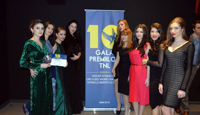 Foto: Simona Halep și Elif Memet, premiate la Gala Premiilor TNL
