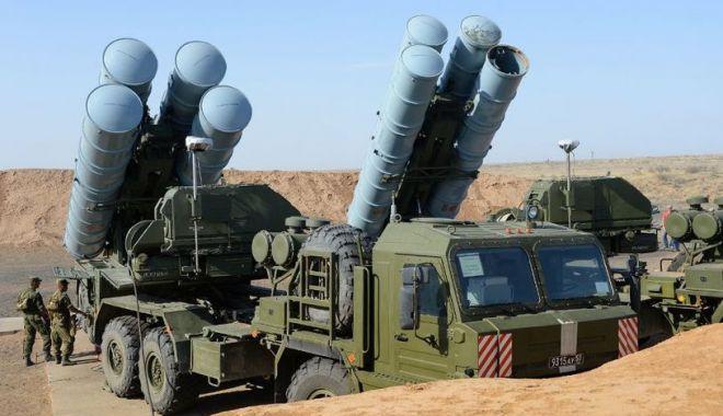 Foto: Sistemul de rachete rusești va ajunge în Turcia în cel mult zece zile