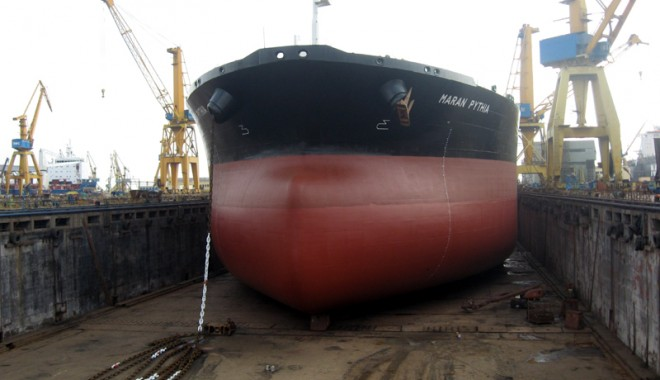 Foto: Șantierul Naval Constanța a intrat pe piața navelor off-shore