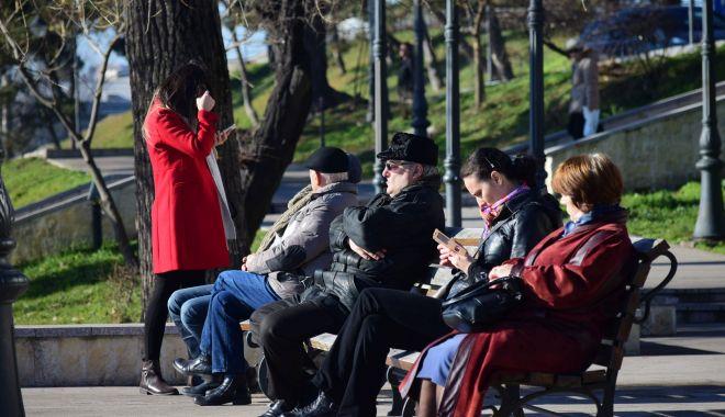 Soare, dar destul de rece, la Constanţa - soare-1618508475.jpg