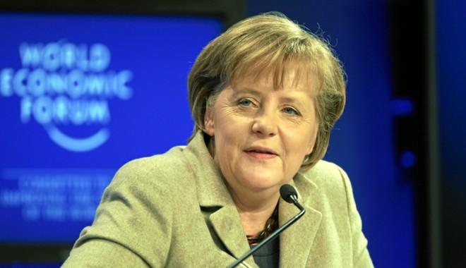 Foto: Social-democrații germani au aprobat formarea unei coaliții cu Merkel