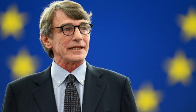 Socialistul italian David Sassoli, ales președinte al Parlamentului European - socialistul-1562274436.jpg