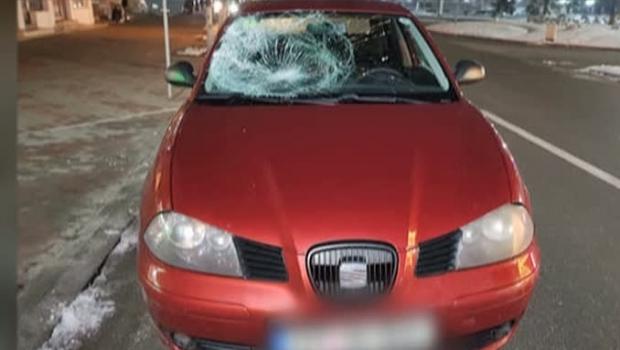 Foto: Șoferul de 18 ani care a omorât un om recidivează! A băgat un pieton în comă!