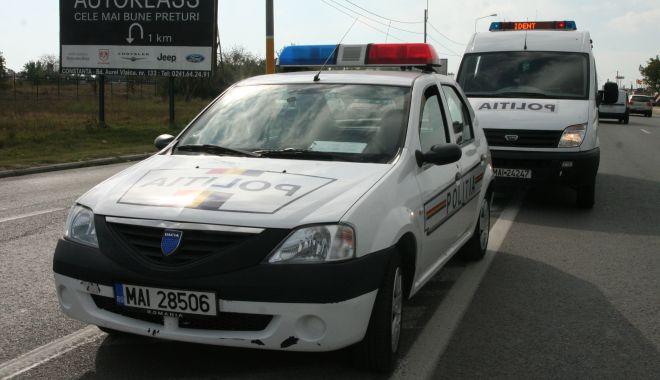 Foto: Șofer beat și drogat, tras pe dreapta pe o stradă din Cernavodă