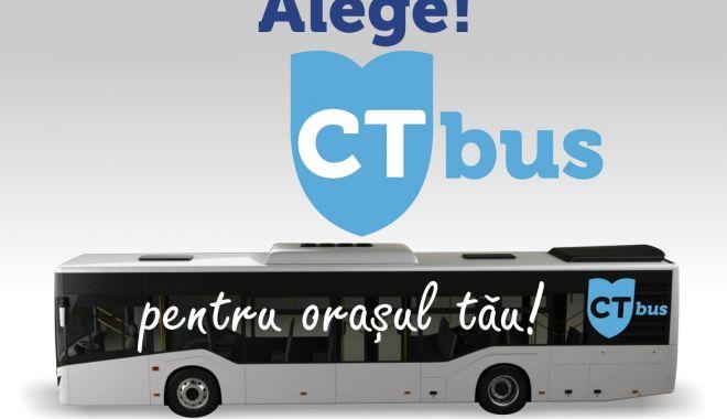 Foto: Sondaj CT Bus. Șapte trasee noi pentru autobuzele din Constanța