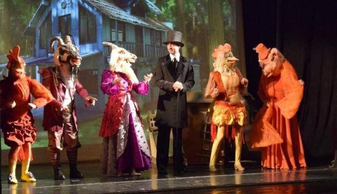 """Foto: Spectacole pentru copii, în weekend, la Teatrul """"Căluţul de Mare"""""""