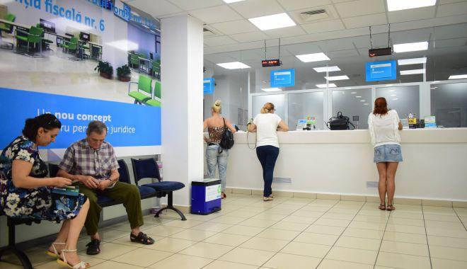 Foto: Agenție fiscală în centrul comercial Tom, pentru locuitorii din zona de nord a Constanței