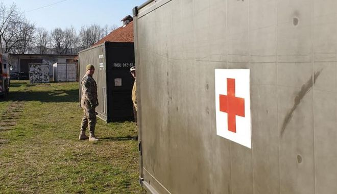 Spitalul militar temporar va fi amplasat pe stadionul