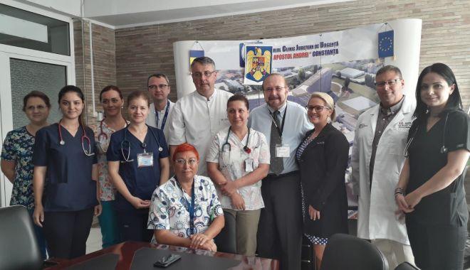 Spitalul de Urgență, vizitat de o delegație de medici străini - spitalul-1568405566.jpg