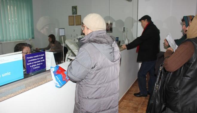 Foto: SPIT. Ghișeele de Taxe și Impozite locale și-au reluat activitatea