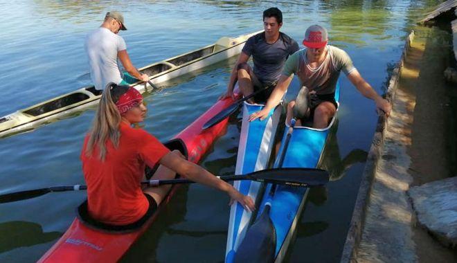 Foto: Kaiaciștii și canoiștii de la CS Farul au revenit la antrenamente