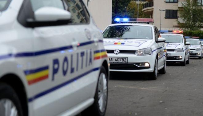 Foto: VIDEO / Imnul României, transmis la megafoanele mașinilor de poliție