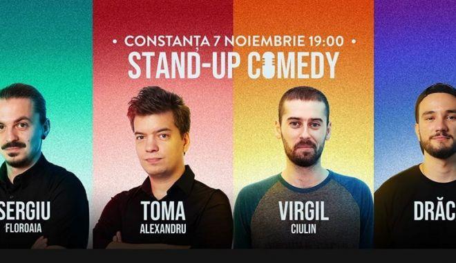Foto: Fanii stand-up-ului sunt așteptați la o nouă porție de râs