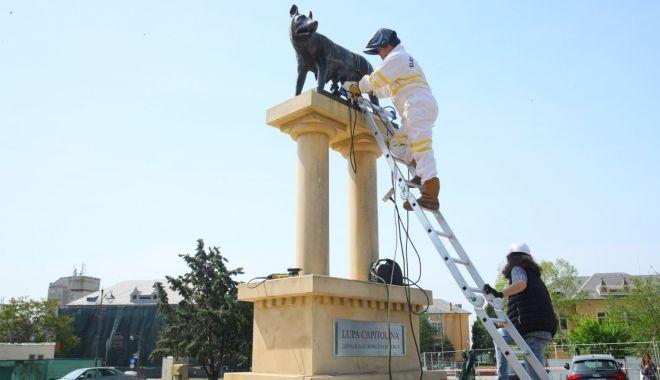 Statuia de la Lupoaică, refăcută. Mai multe monumente din Constanța vor fi restaurate - statuiadelalupoaica-1589732379.jpg