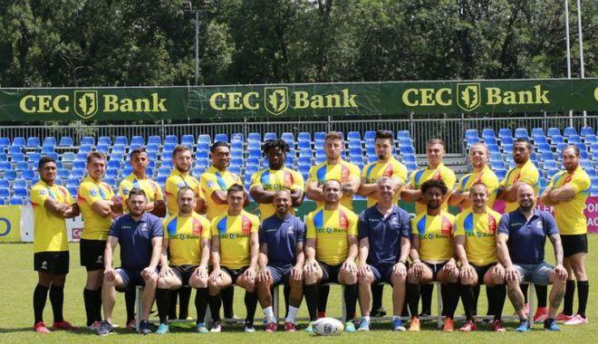 """Foto: """"Stejarii"""", start  în prima etapă  a Europenelor  de rugby în 7"""