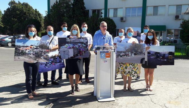 """Foto: Stelian Ion pentru Primăria Constanța. """"Ne dorim un oraș curat! Firma de salubritate nu își face treaba!"""""""
