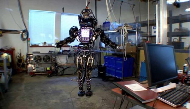 Foto: Atlas, robotul-Terminator creat pentru armata americană