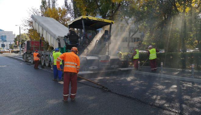 Foto: Strada Mihai Viteazu, reabilitată în timp record