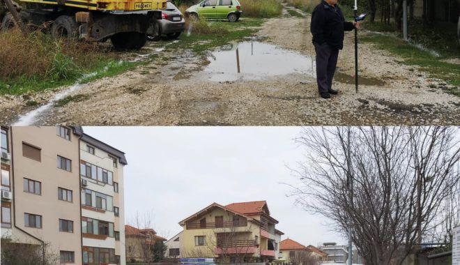 Foto: Strada Cella Delavrancea, reabilitată de administrația locală