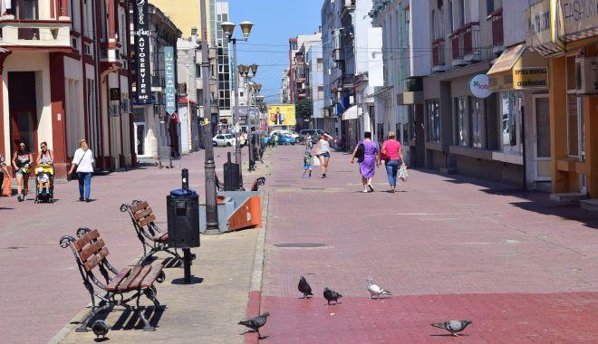 Foto: Renaște centrul pietonal al Constanței, se reabilitează strada Ștefan cel Mare! Declarații Decebal Făgădău