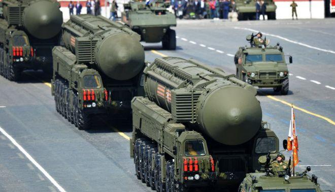 Foto: SUA și Rusia, discuții despre un nou acord privind forțele nucleare